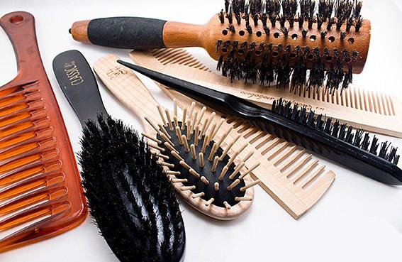 выбор расчёски