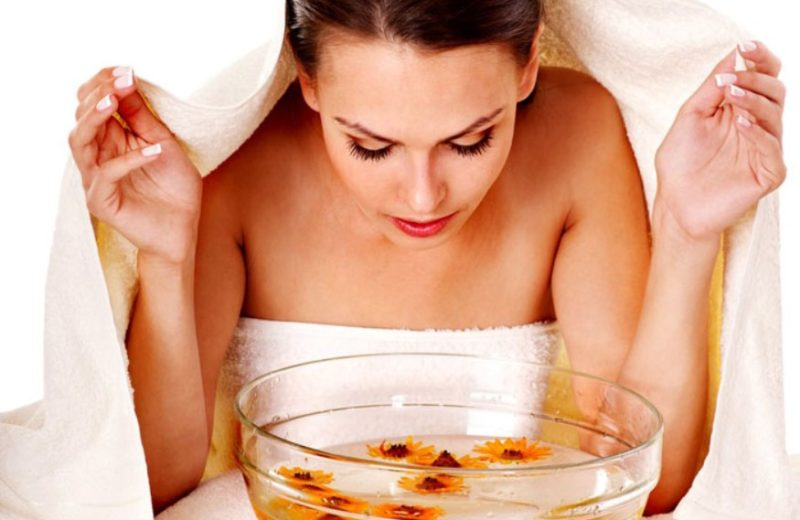 паровые ванночки для лица