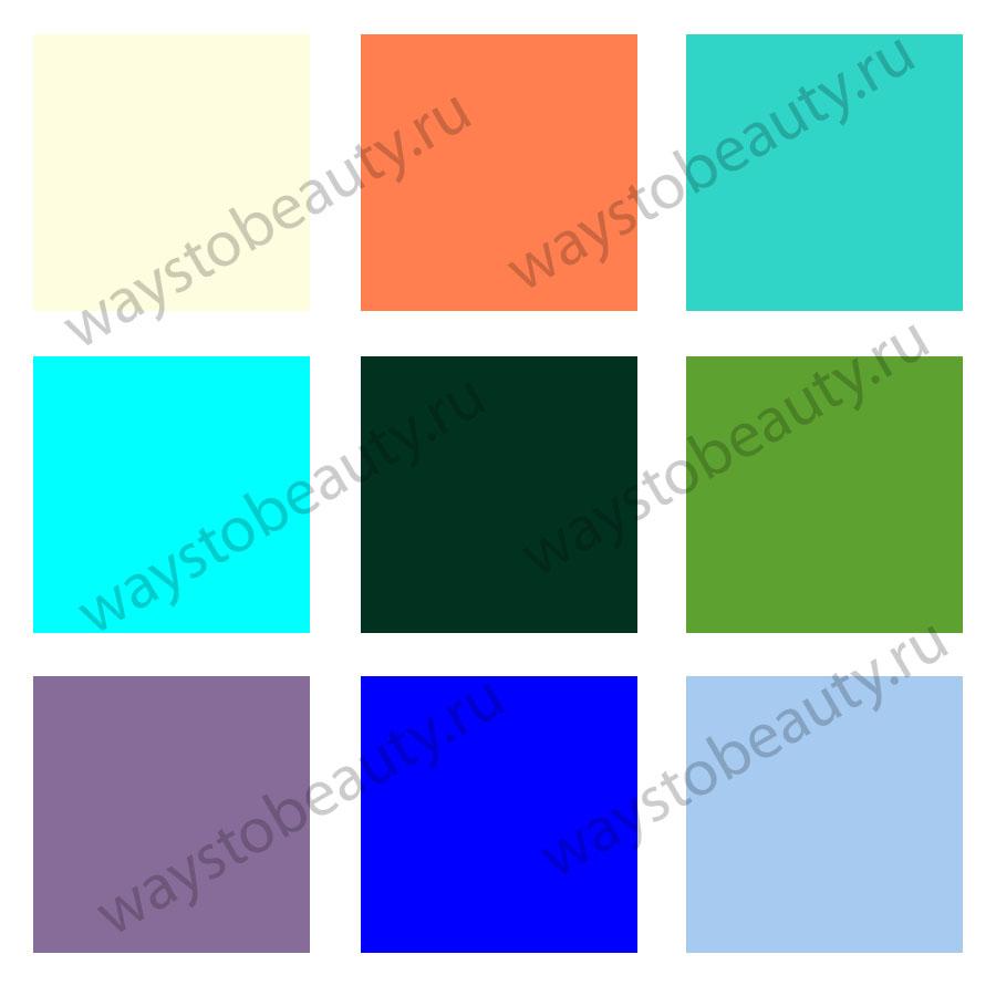 Актуальные цвета одежды 2020